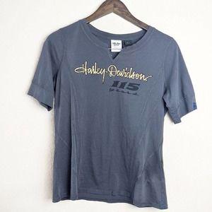 Harley-Davidson Grey 115 Years Tee Shirt Large